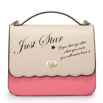 Borsa a mano in pelle pink